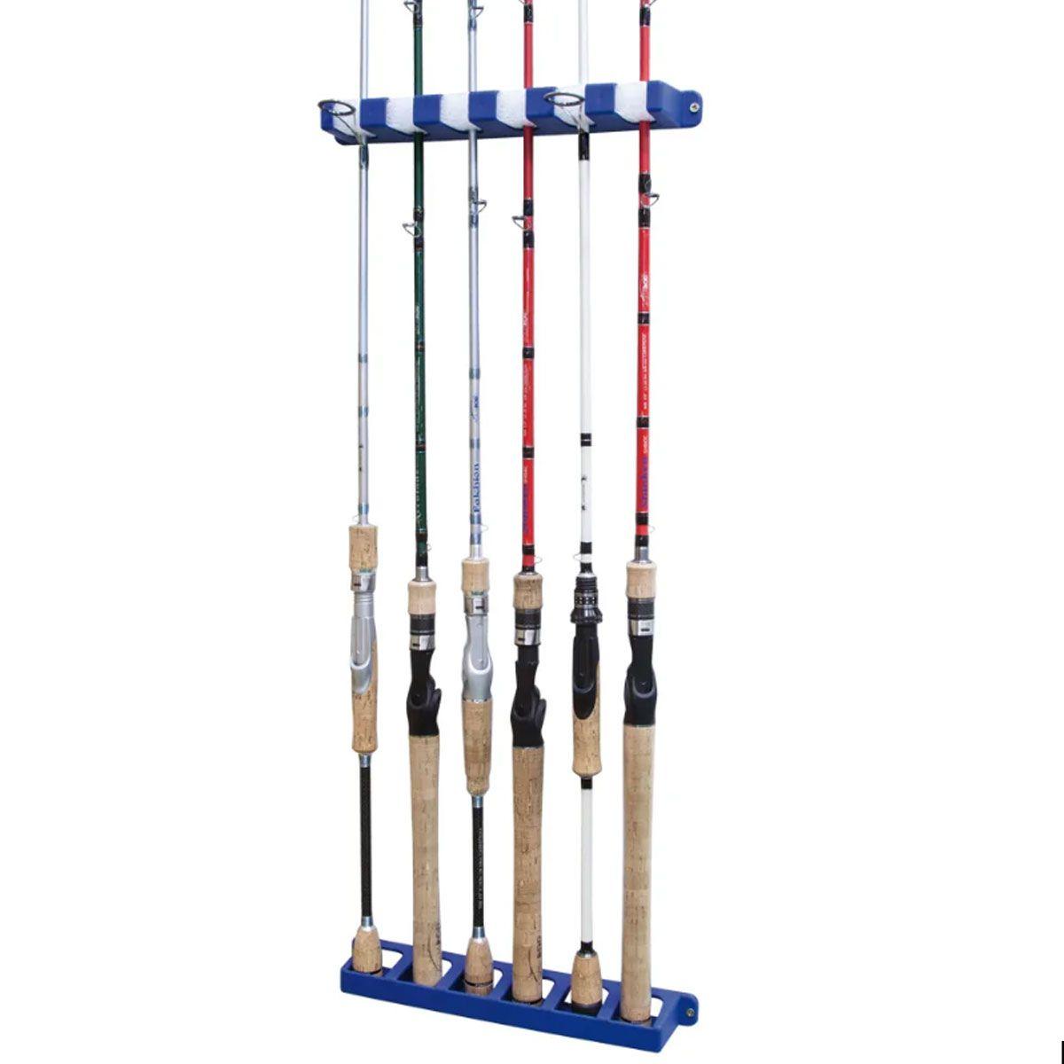 Suporte Para Até 6 Varas Nautika Rod Rack Aquafishing