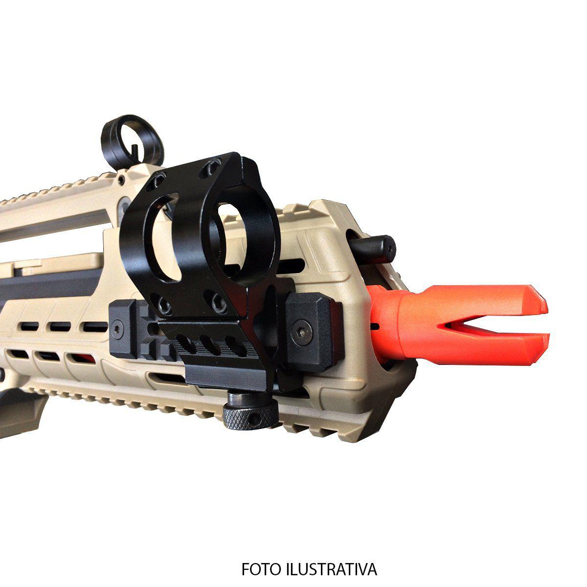 Suporte Para Fixar Lanterna Em Armas de Trilho MGM-3 22mm