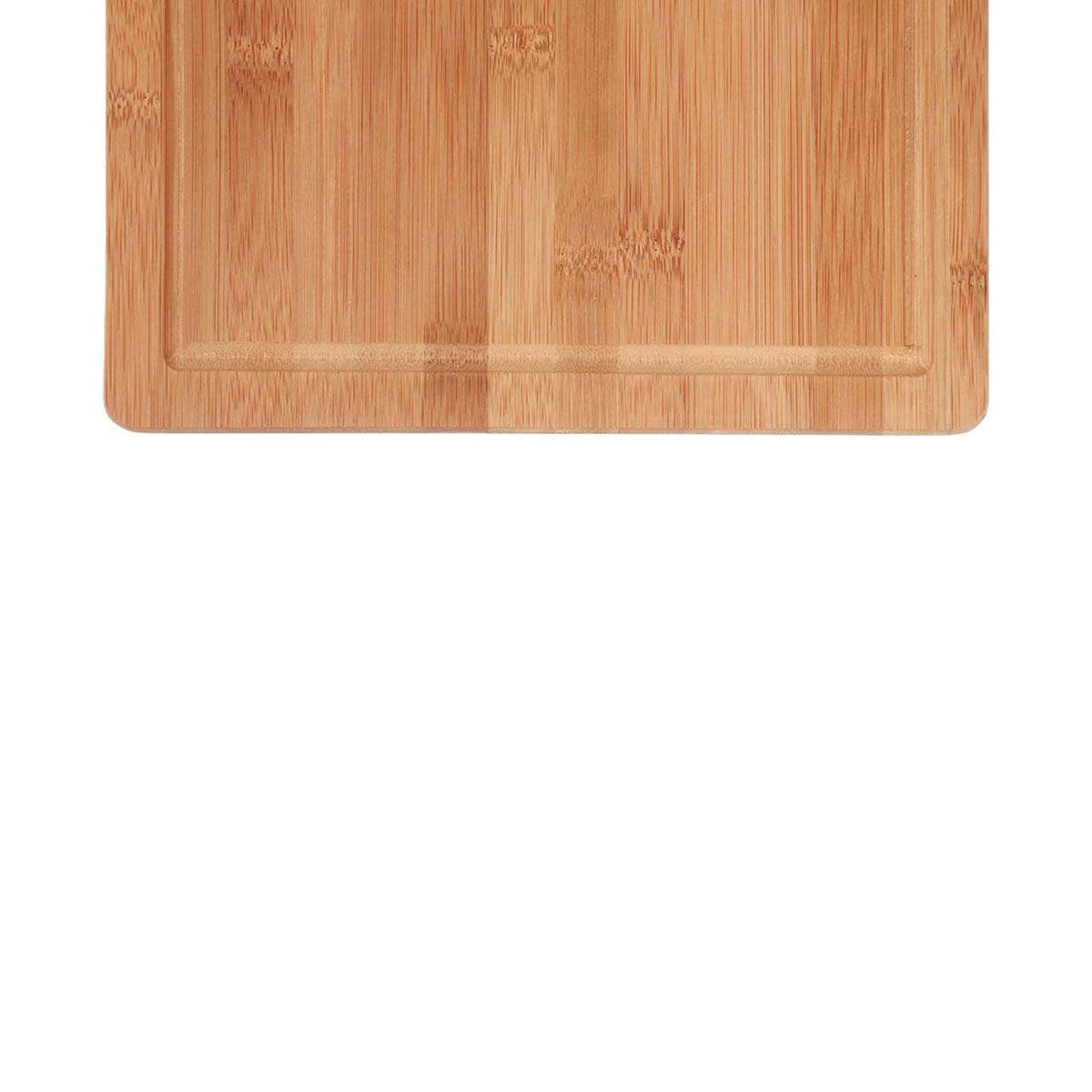 Tábua para Corte Mor Retangular 35x25cm Bamboo