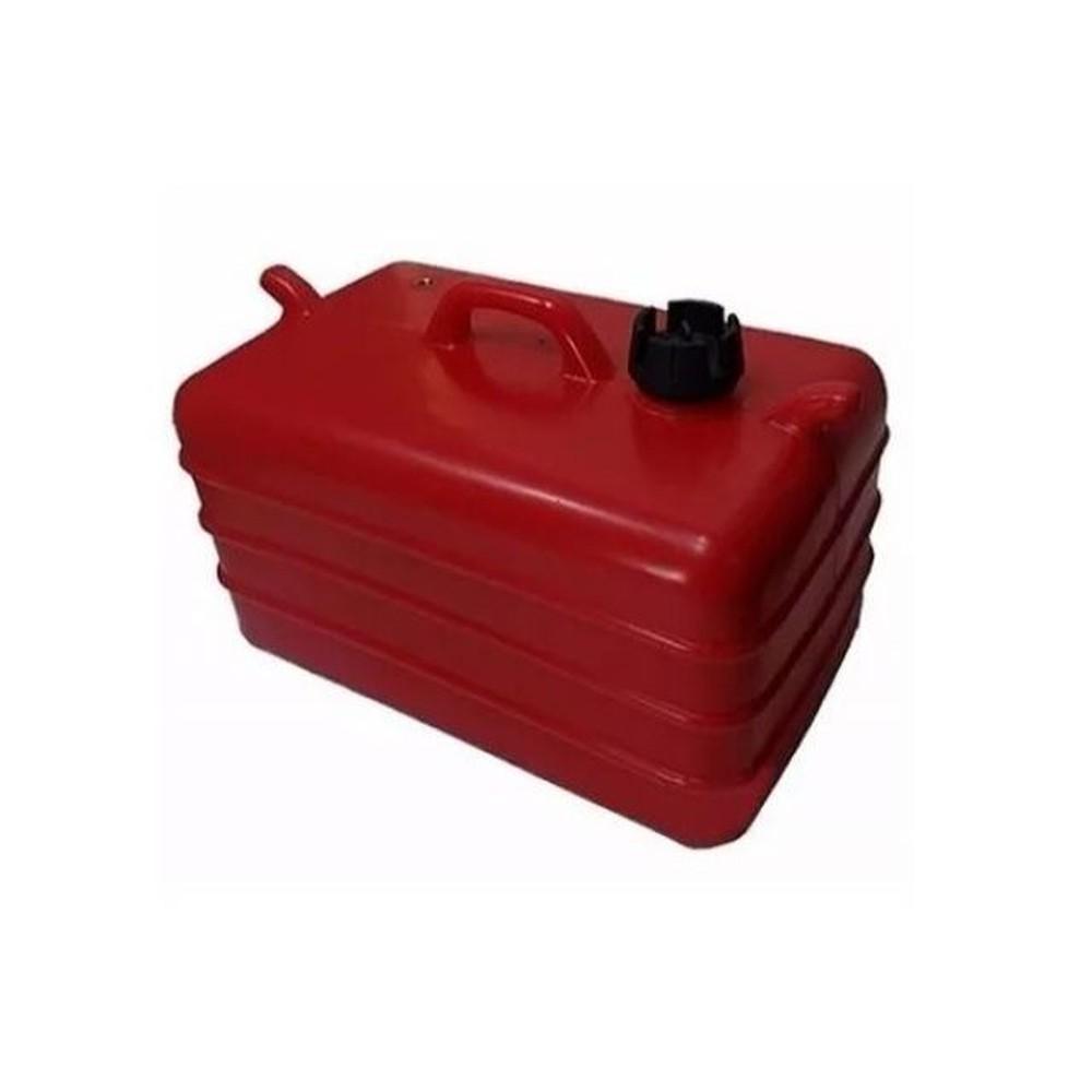 Tanque de Combustível p/ Embarcações 12 Litros - Vermelho