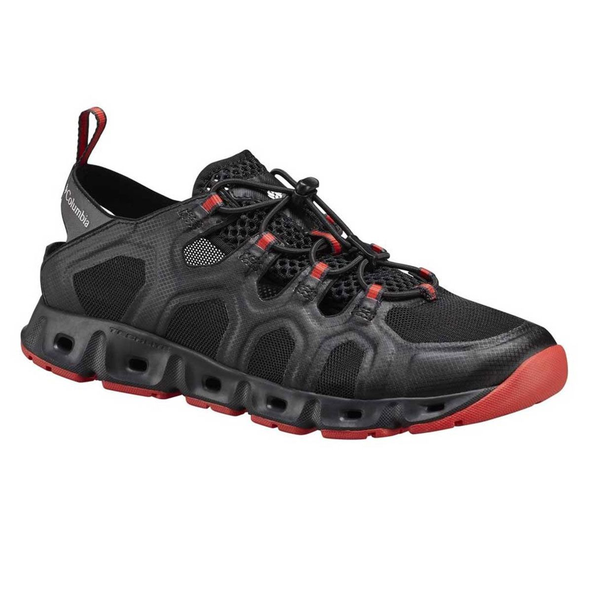 Tenis Columbia Supervente III Black Poppy Red