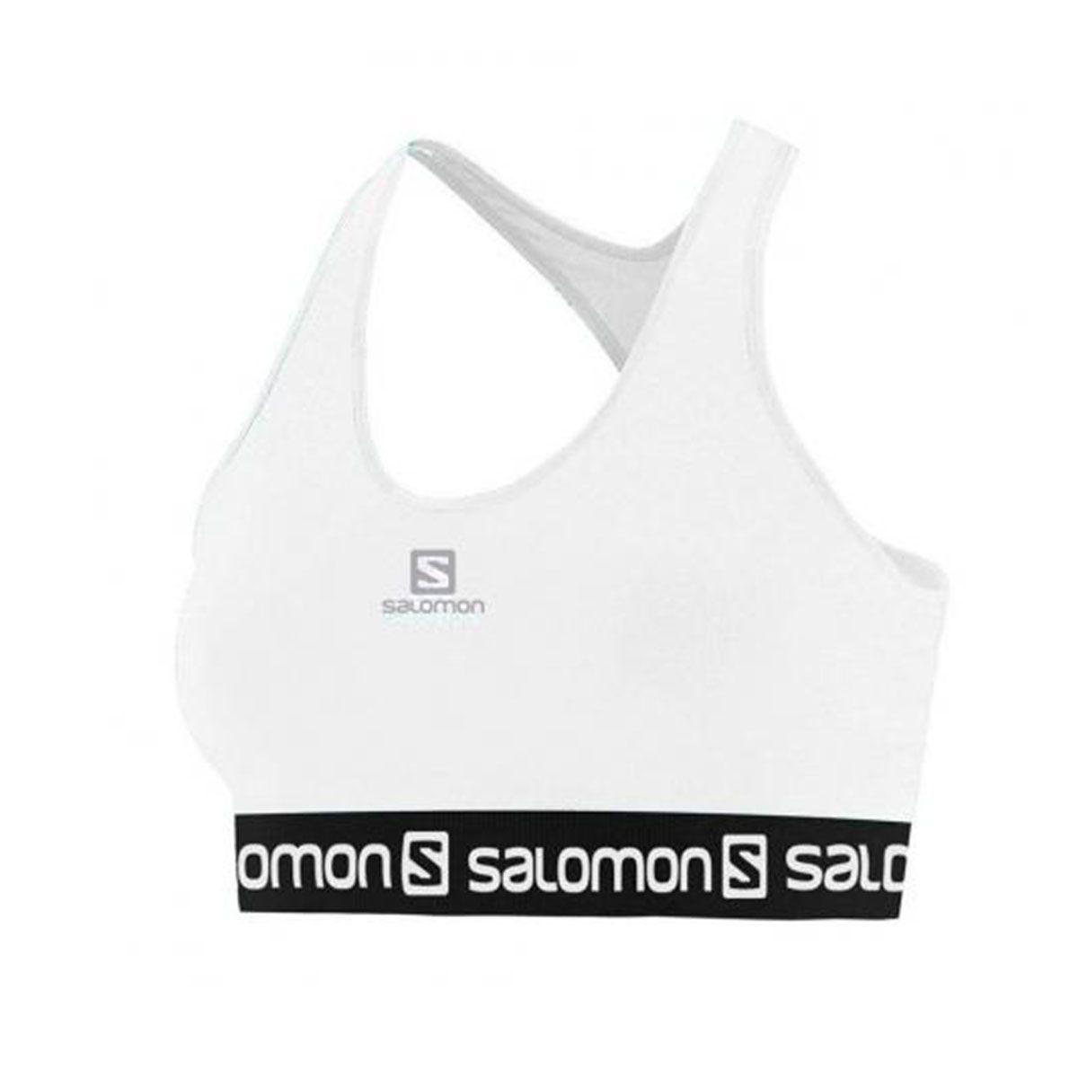 Top Salomon Impact Bra II Feminino - Branco