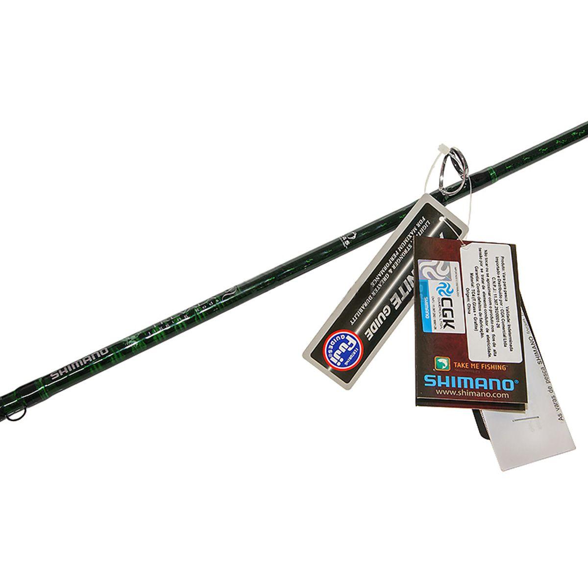 Vara de Pesca para Carretilha Shimano Trevala S TVSC63MHSA (1,91m) 50-80lb - Inteiriça