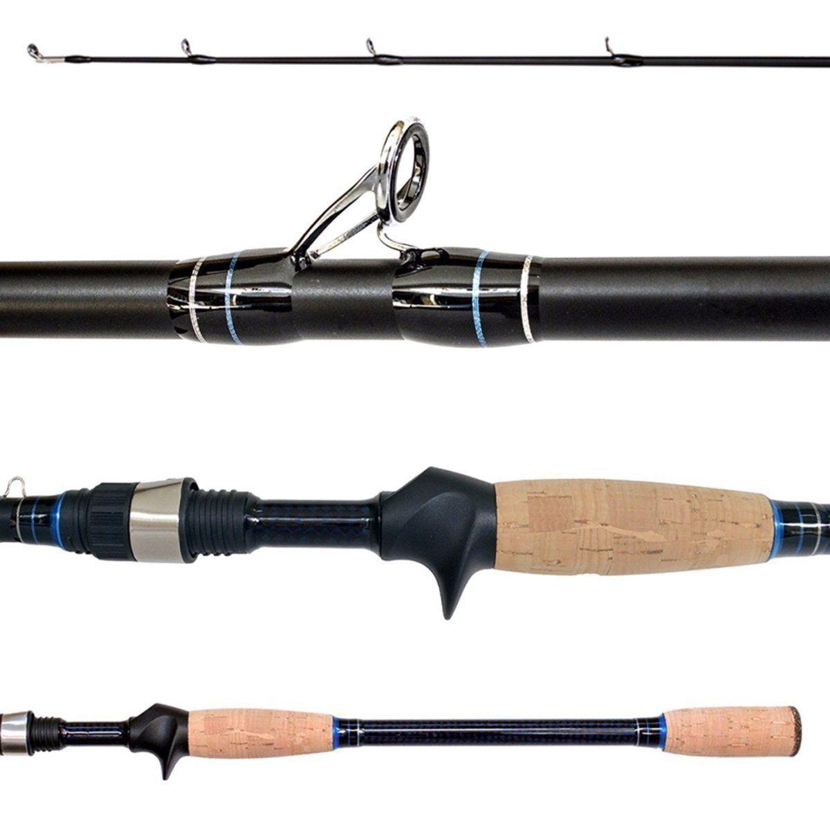 Vara Lumis Fish Fighter Carretilha 1,68m Média 5-14LB