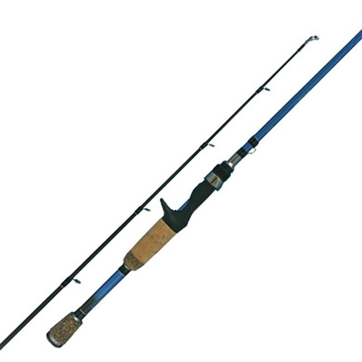 Vara para Carretilha Plusfish Assault 1,68m 6-14lb Branco/Vermelho