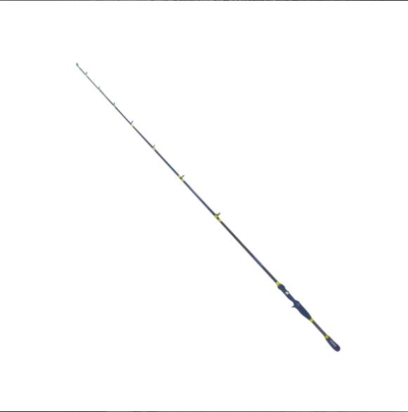 Vara Plusfish Spin Carretilha 1,68m 8-17lb 15-30g Ação Média 1 Parte Preto/Amarelo