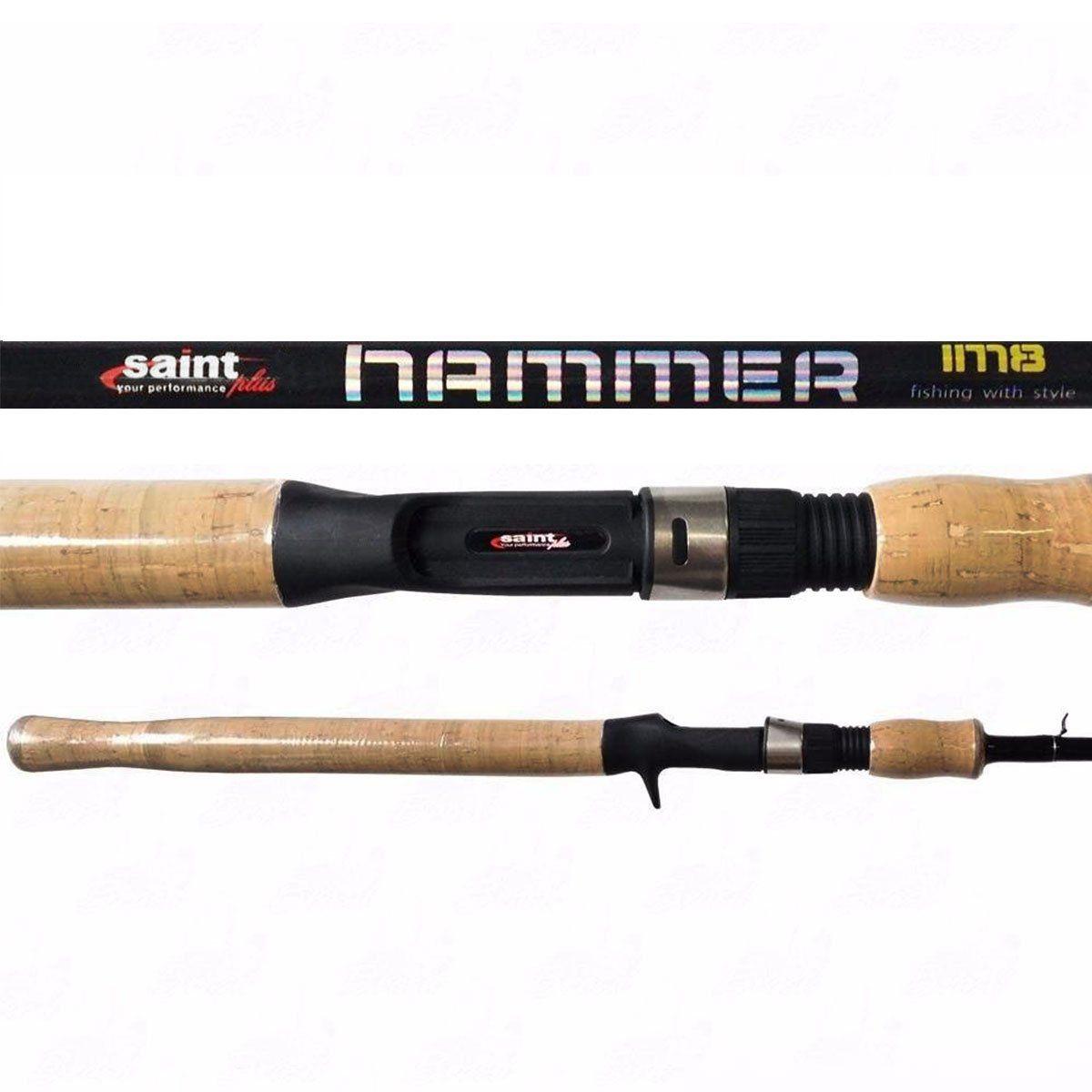 Vara Saint Plus Hammer IM8 p/ Carretilha 7-17LBS 561BC