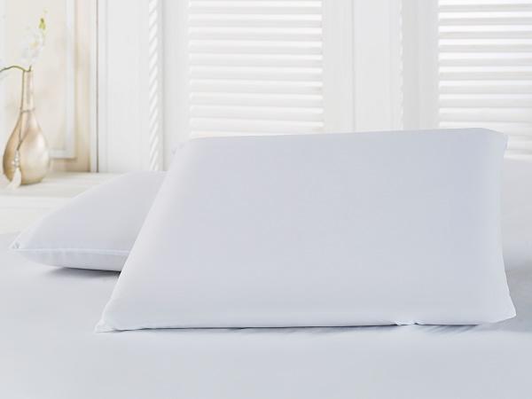 Kit 2 Travesseiros Nasa Viscoelástico 16cm + Protetores Com Ziper