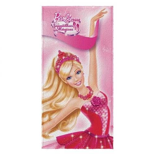 Toalha De Banho Barbie E As Sapatilhas Mágicas- Original