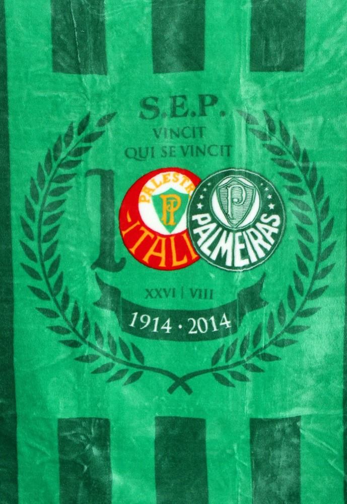 Cobertor do Palmeiras Jolitex Solteiro Oficial