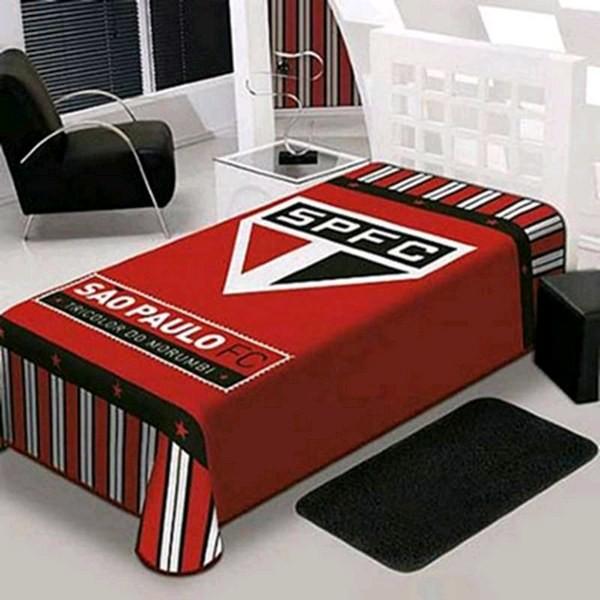 Cobertor Stadium Casal São Paulo Oficial Jolitex Original