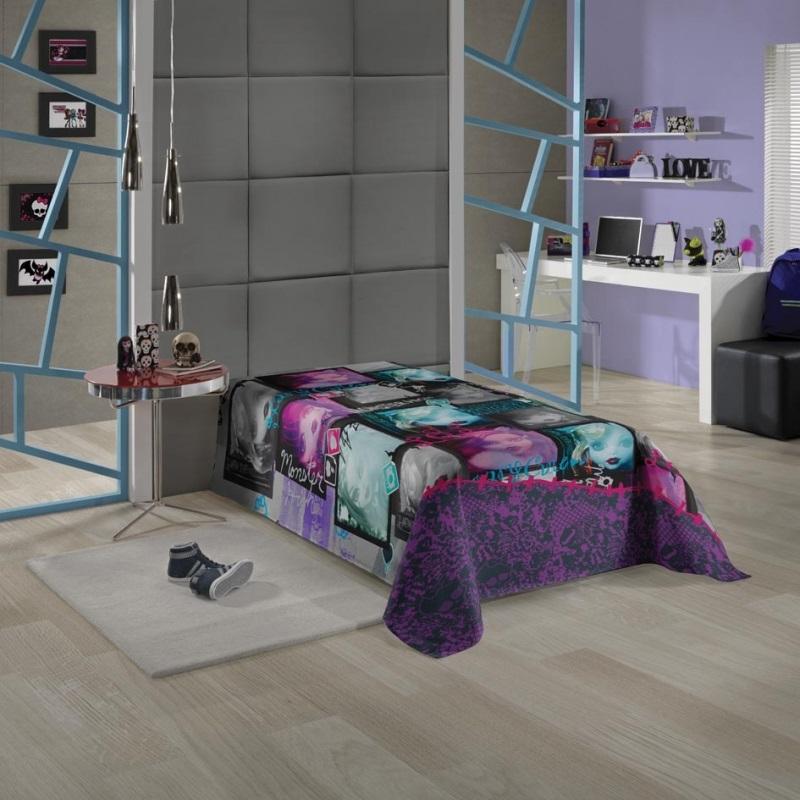 Colcha Infantil Monster High 04416001 | Lepper