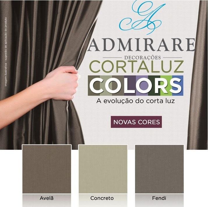 Cortina Blackout 2,80 X 2,50 Colecao Nova - Admirare