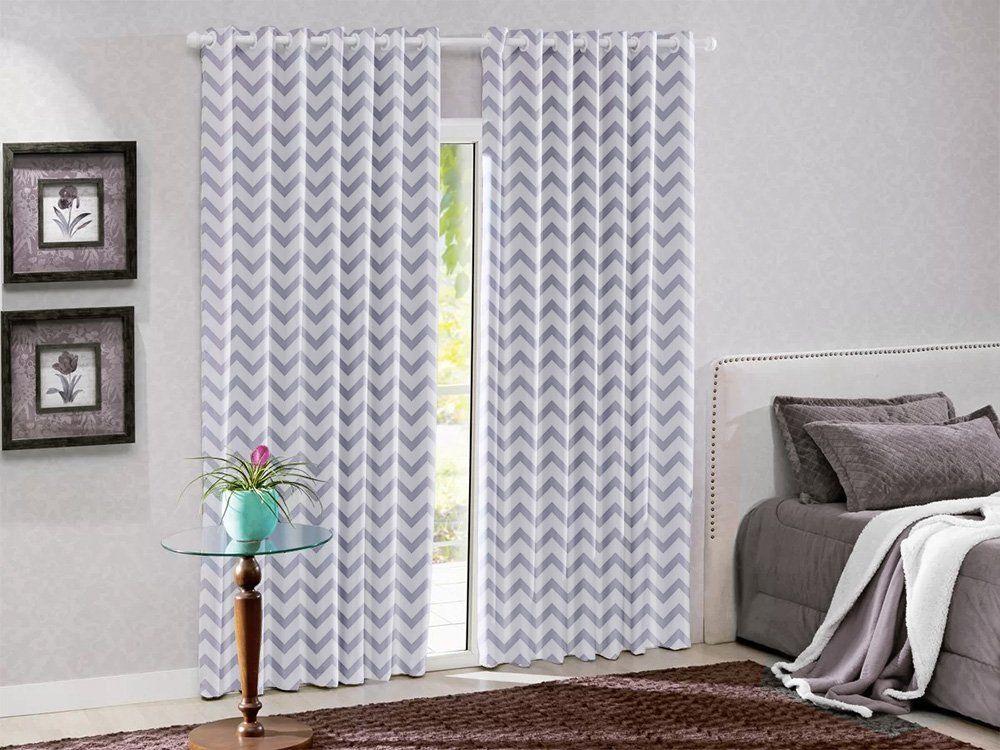 Cortina Blackout PVC(Plástico) Estampada Nova Coleção 4 x 2,8 m | Admirare