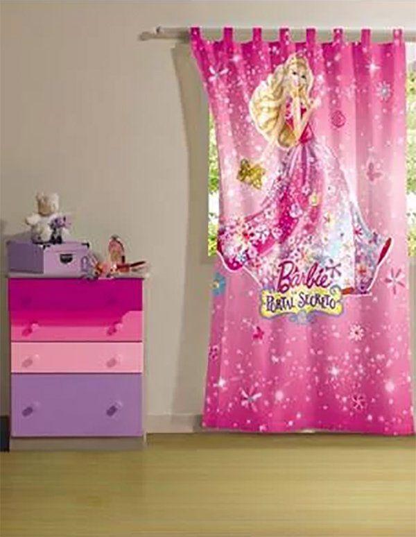 Cortina com passante Barbie Portal Secreto 1 peças  | Lepper