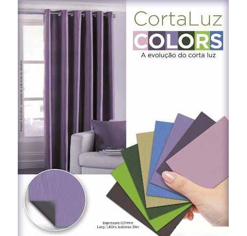 Cortina Corta Luz Blackout Pvc 1,40x1,50 Collors | Admirare