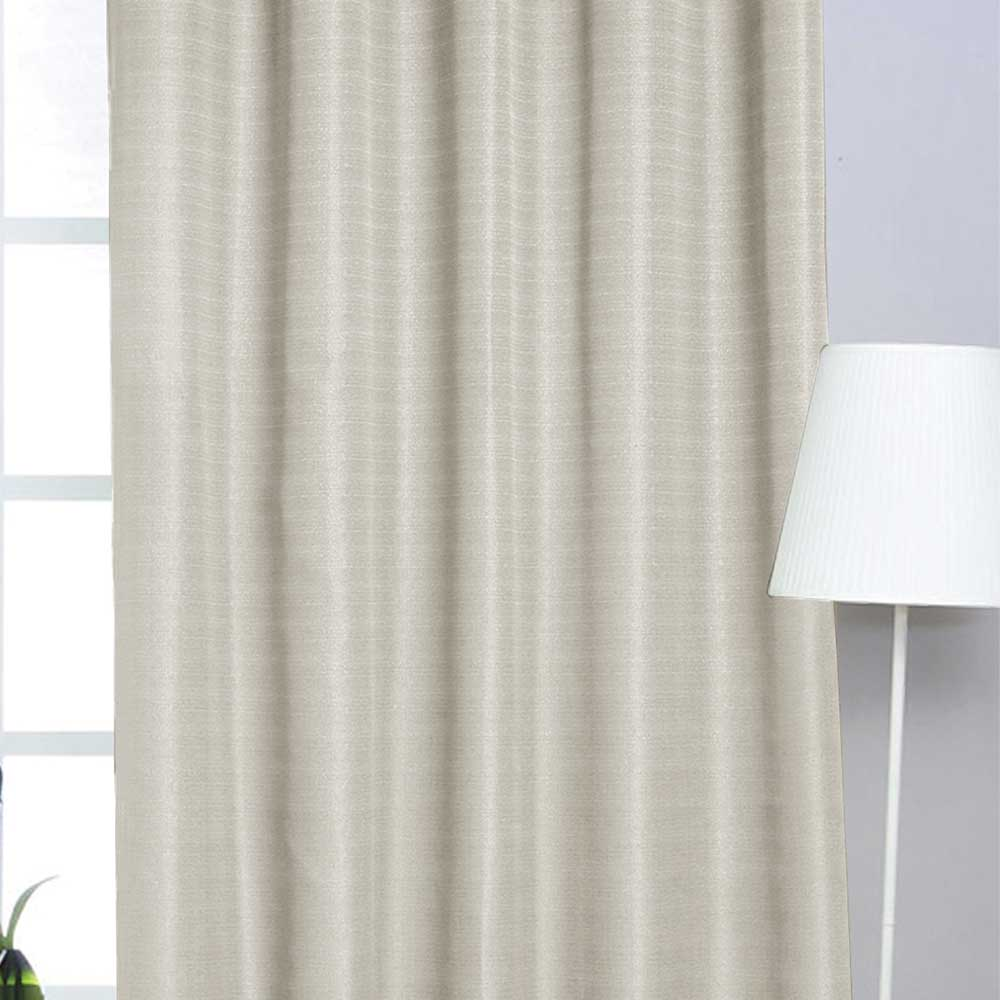 Cortina Granite 280x250 Creme Platinum C/ Ilhós Sultan
