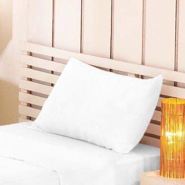 Fronha Lisa Branca Premium Linea 100% Algodão | Estamparia