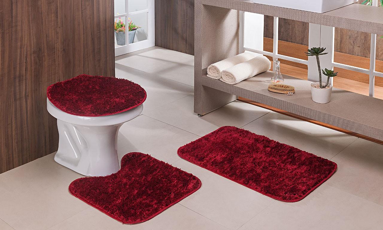 Jogo de Banheiro 3 Peças Classic | Oasis