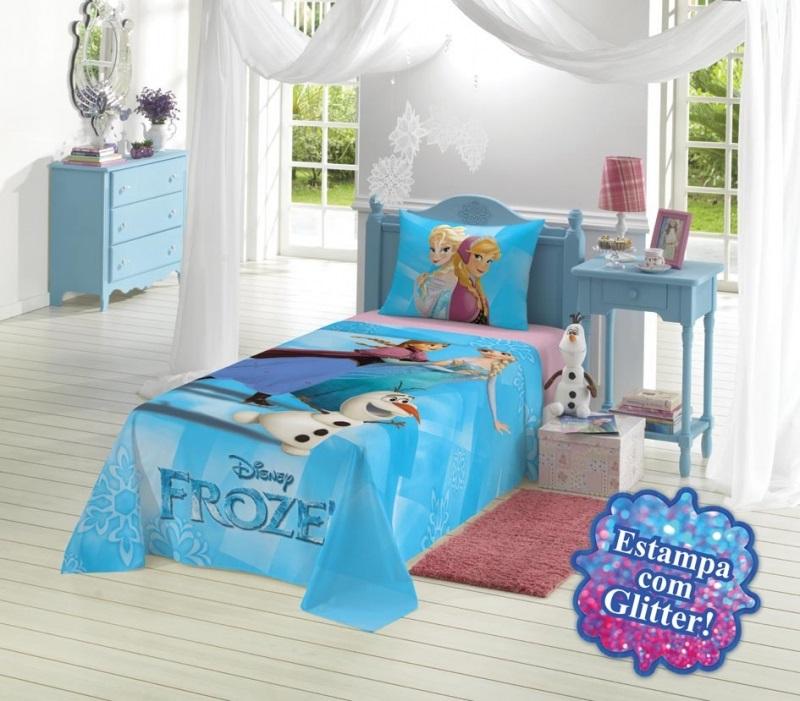 Jogo de cama 2 Peças Frozen | Lepper
