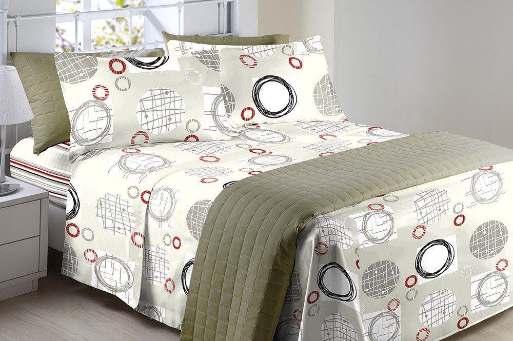 17824a41f6 Jogo de cama Casal 4 Peças Color Art Corttex