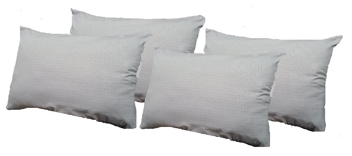 kit com 4 Travesseiro Anti-Stress 50x70 Toque Macio Admirare