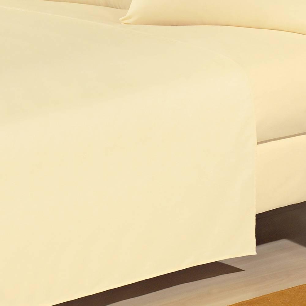 Lençol  Solteiro com elástico 200 Fios Percal  100% Algodão  | Sultan
