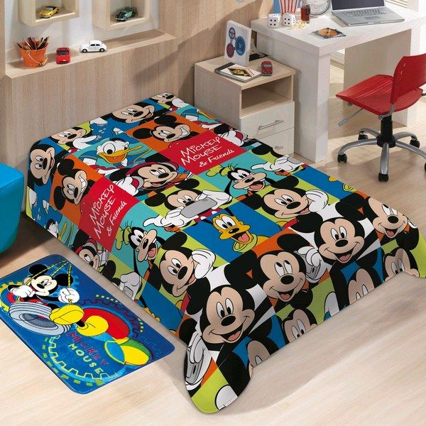 Manta Microfibra Disney soft Mickey Friends | Jolitex
