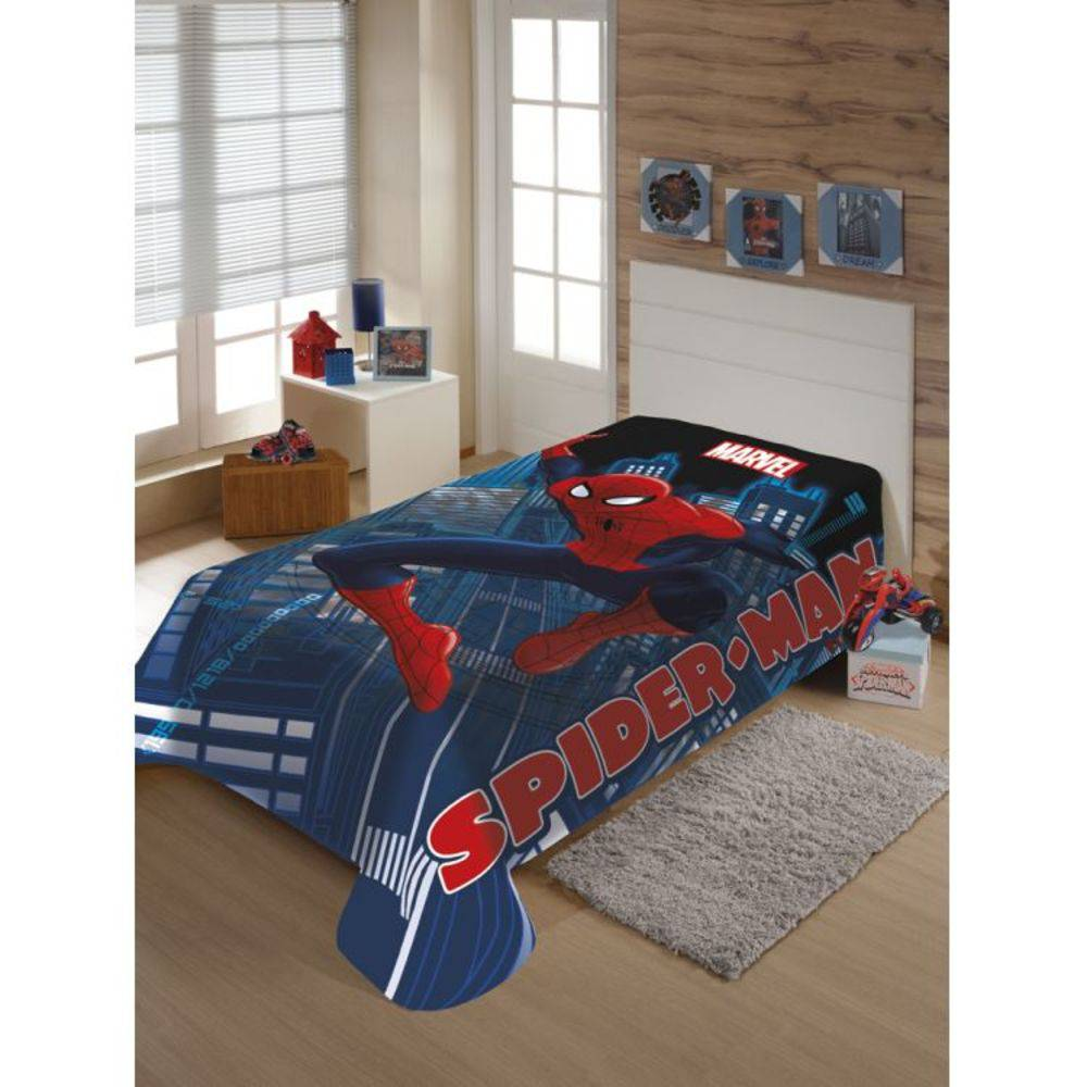 Manta Microfibra Marvel Spider Man | Jolitex