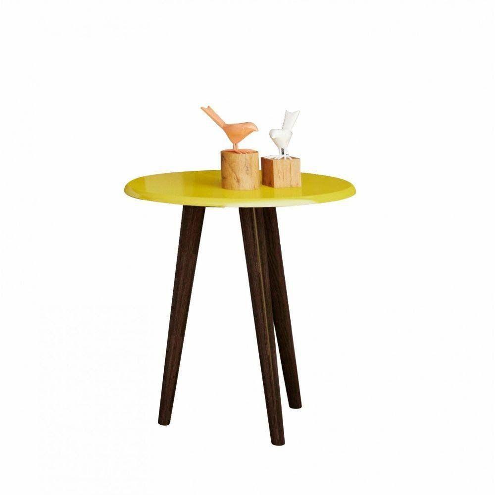 Mesa de Canto Retro 50cm | Admirare