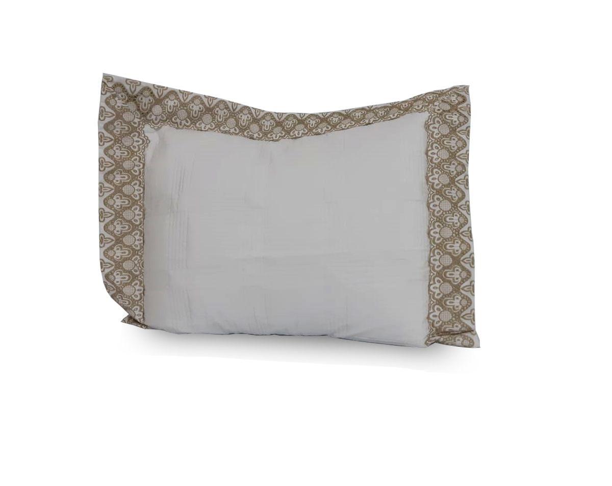 Porta Travesseiro Sofisticatta | Pano Bordado