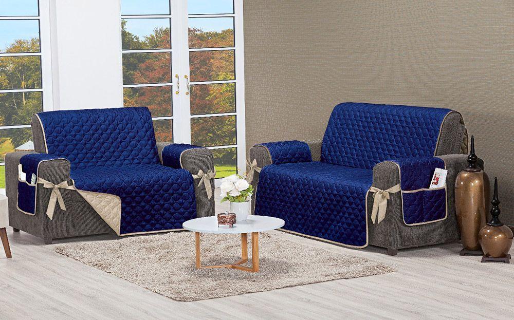 Protetor para sofá Mônaco 2 e 3 Lugares | Brothers Enxovais