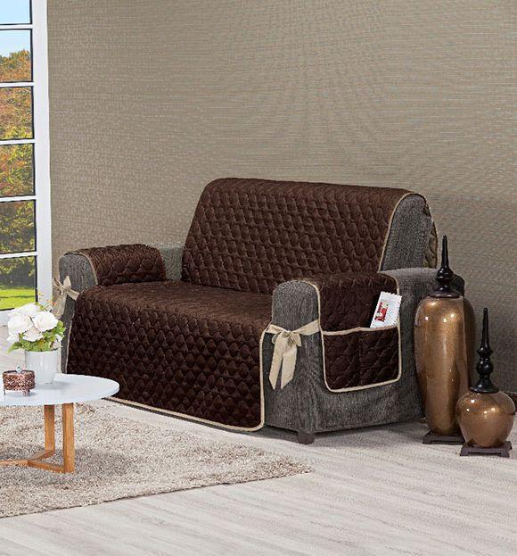 Protetor para sofá Mônaco 3 Lugares | Brothers Enxovais