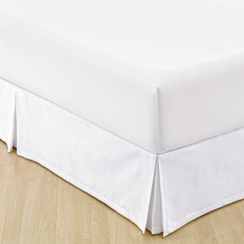 Saia Para Cama Box Casal Granite Branca | Sultan