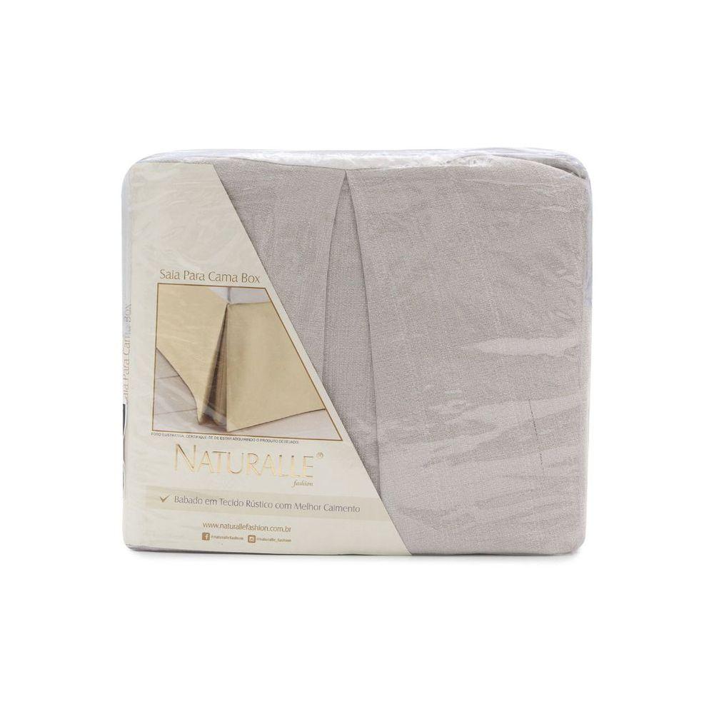 Saia Para Cama Box Casal Granite Caqui| Sultan