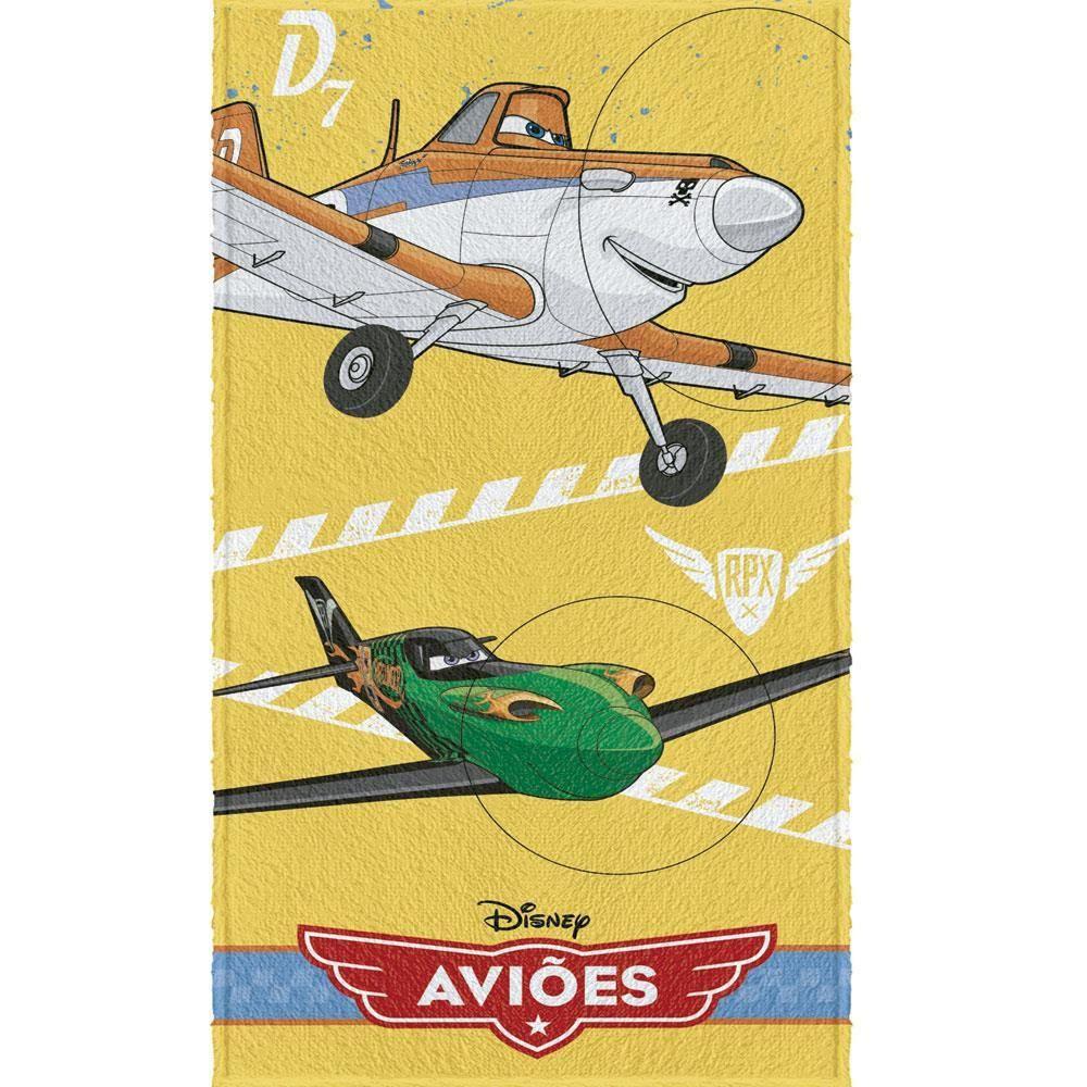 Toalha De Banho Felpuda Aviões Disney | Lepper