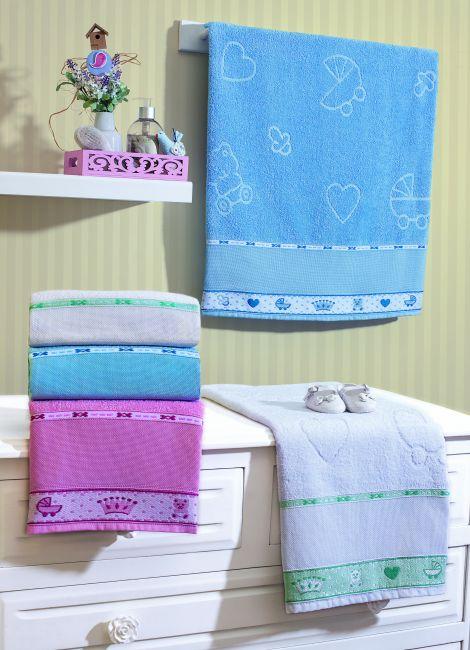 Toalha de Banho Infantil Baby 68x110 cm 100% Algodão | Appel