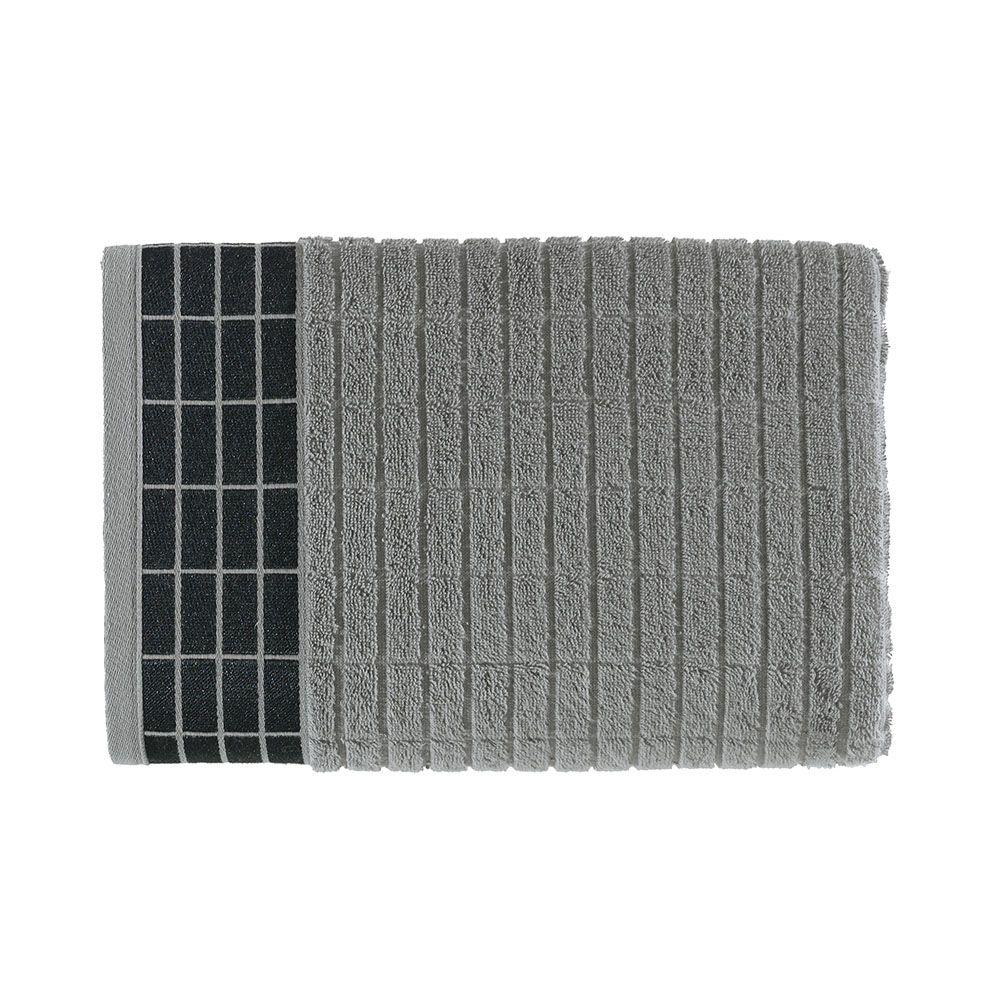 Toalha de Banho Karsten Teodor 70x140 Cinza Steel