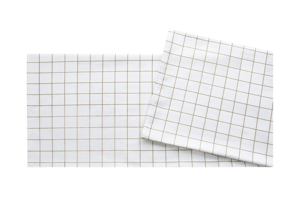 Toalha De Mesa Quadrada Panamá Grid Bege 220x220 Sultan