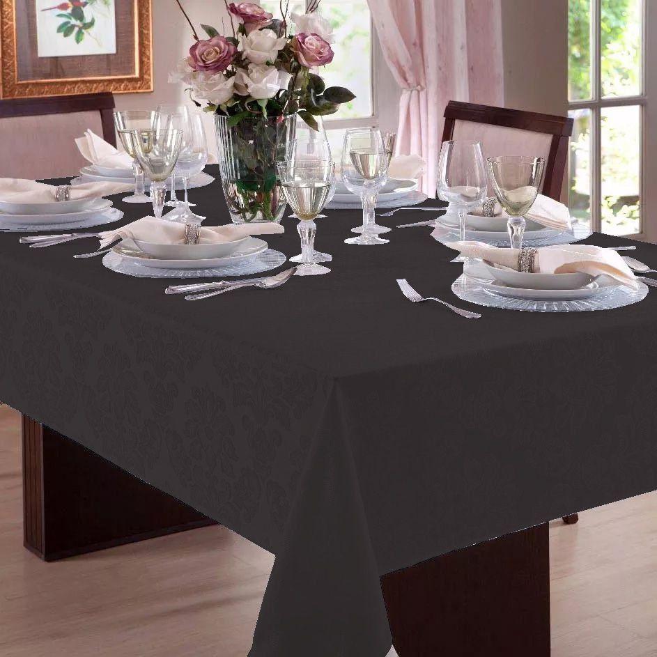 Toalha de mesa Retangular em Jacquard 8 Lugares | Admirare