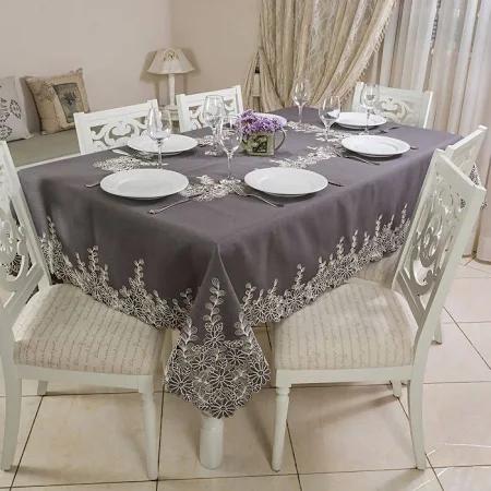 Toalha de Mesa Retangular Ibiza 170x270Cm | Casa Argivai