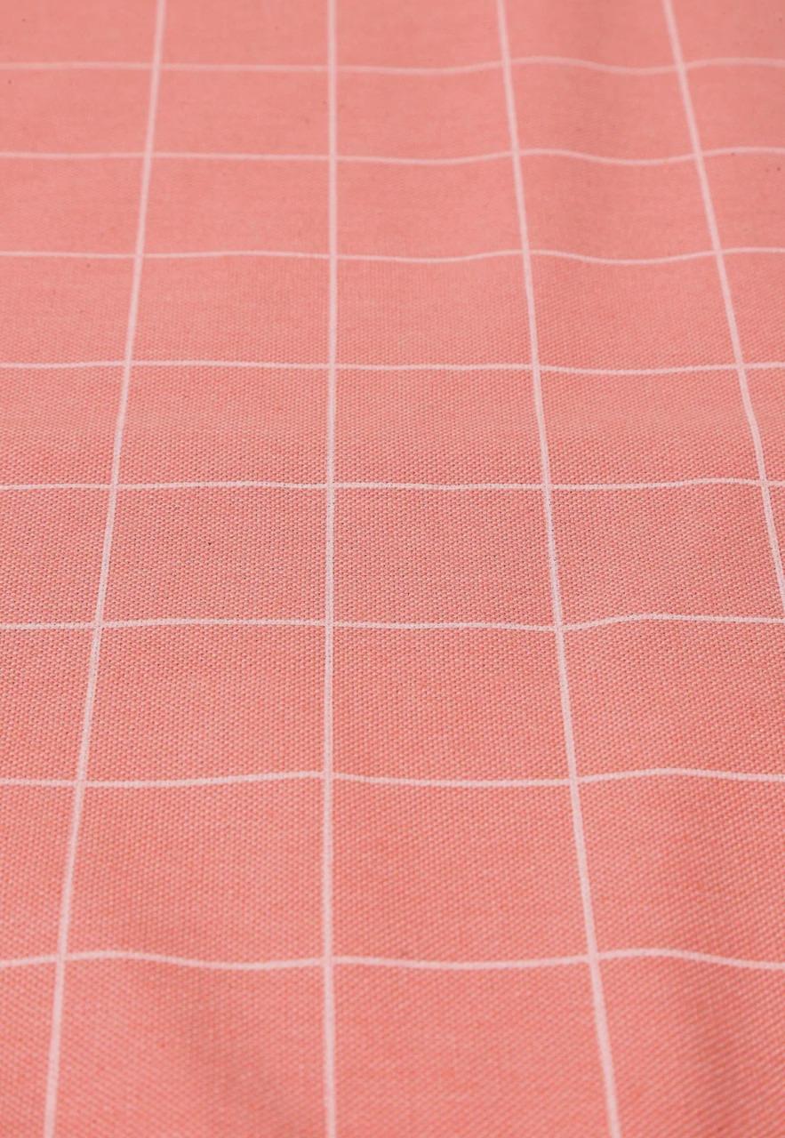 Toalha De Mesa Retangular Panamá Salmão 1,60x220 Sultan