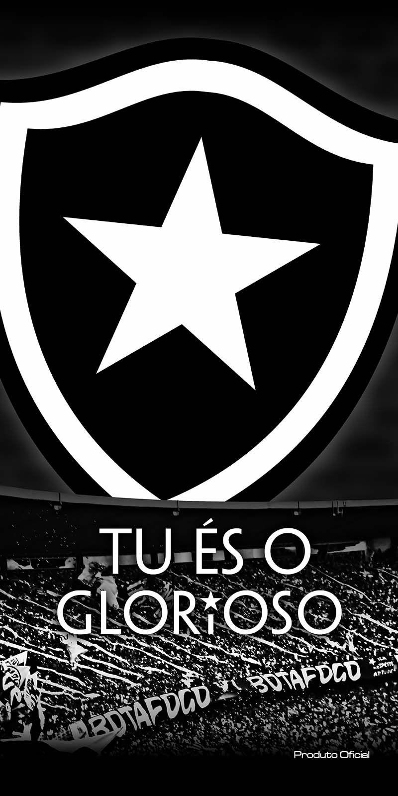 Toalha Felpuda Time de Futebol - Botafogo | Buettner