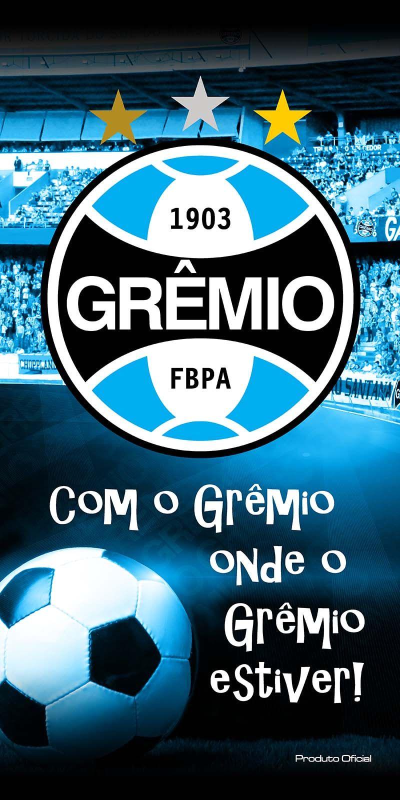 Toalha Felpuda Time de Futebol - Grêmio | Buettner