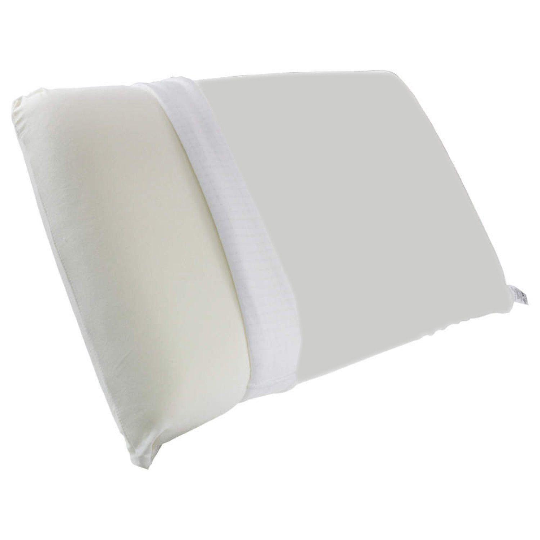 Travesseiro Viscoelástico com capa protetora impermeável