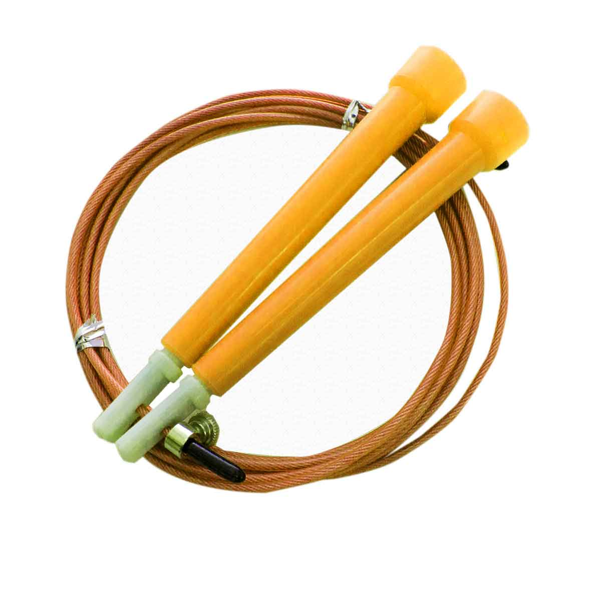 10x Corda De Pular 3m Cabo Aço Rolamento Crossfit Speed Rope
