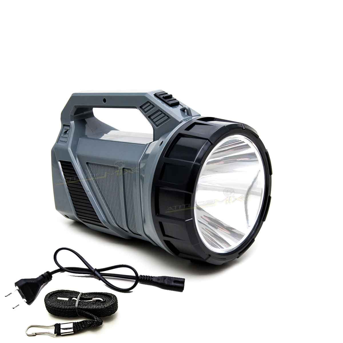 Lanterna Holofote 1000 Metros Recarregável Super Led 24h