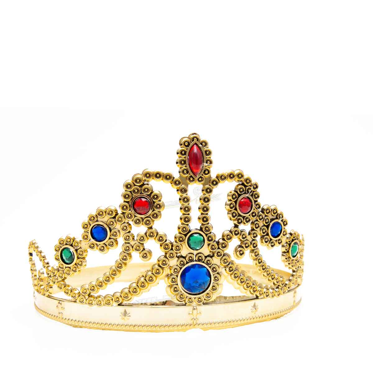 Coroa Rainha Princesa Noiva Festa Debutante Cosplay Dourada