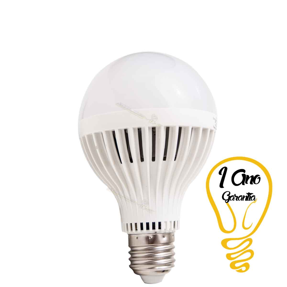 Lâmpada LED 9W E27 Bulbo Bi-Volt 90% Mais Econômico