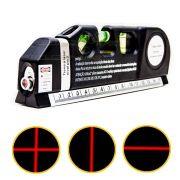 Nível Nivelador Laser Trena 3 Linhas Horizontal Vertical